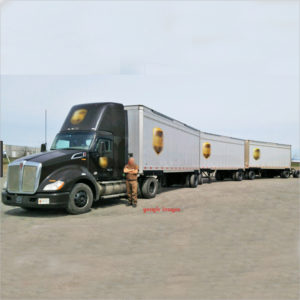UPS TRUCK AND TRAILERS