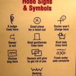 tramp art symbols
