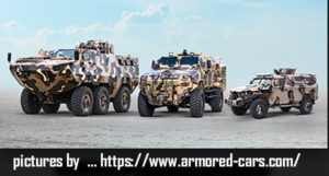 3 Armored Trucks in Canada
