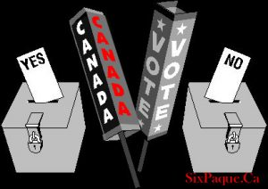 Canada vote caption