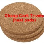 cheap cork heat pads trivets