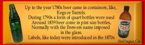 did you know beer bottles