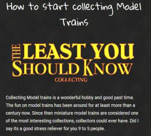 collecting Model Trains post