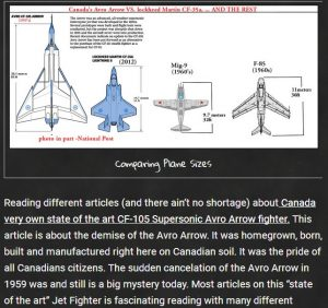 preview of the Avro Arrow Write up