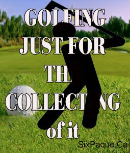 golfing for the collecting book cover