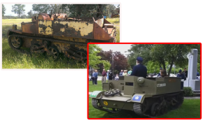 BEFORE AND AFTER Ford Universal Carrier barn find