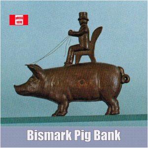 Bismark Pig Coin Bank