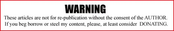 Warning not for re-publishing banner