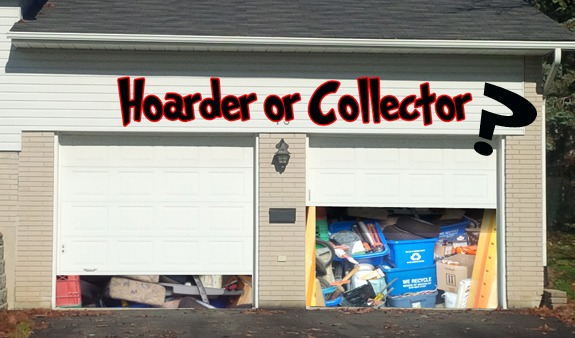Hoarder or Collector's house