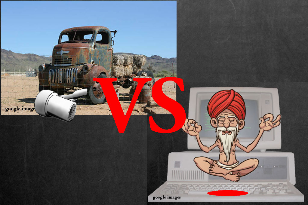 Truck Mechanic vs Computer Guru